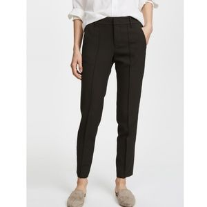 Nwot Vince strapping crop trouser pants black 6